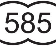 585 проба золота