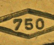 стоимость золота 750 пробы