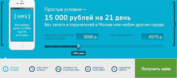 Смс займ онлайн заявка мфо займ без процентов оформить